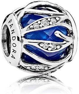 Pandora 潘多拉 丹麦品牌 蓝色自然的光华925银串饰791969NCB