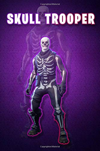 Fortnite : skin skull trooper: lined notebook (Fortnite : skin skull trooper )
