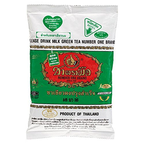Cha Tra Mue Brand Thai Grüner Tee Mix 200g