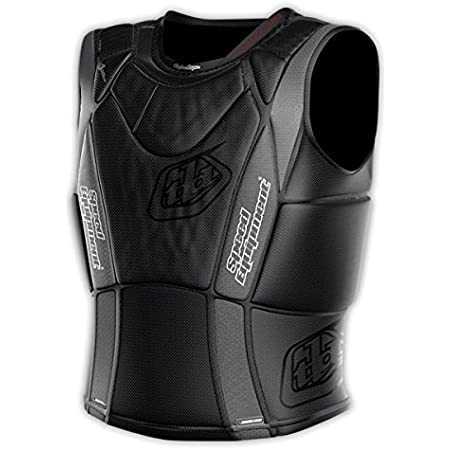 Troy Lee Designs 3900 Ultra Protective Heavyweight Vest Solid Black, XL (X-Large, Black)