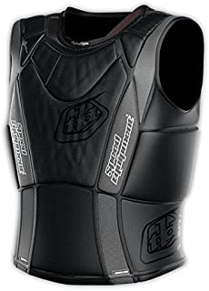 Troy Lee Designs 3900 Ultra Protective Heavyweight Vest Solid Black, M