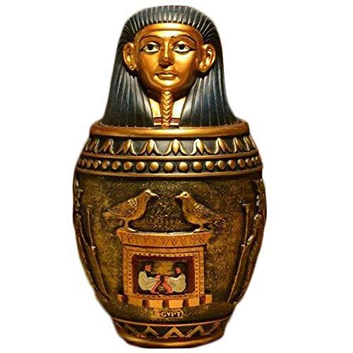 ASDFGHJKL Ataúd Mascota Faraón Egipcio Estilo del Gato Y El Perro Mascota Suministros Conmemorando Grandes Y Medianas Urnas para Mascotas