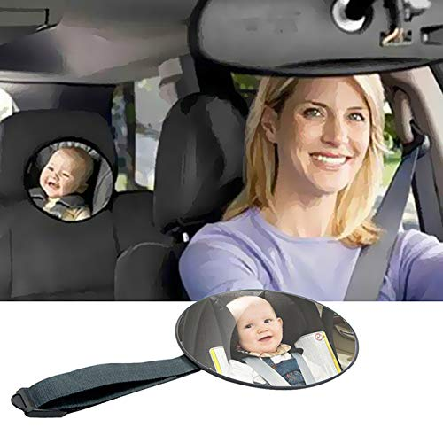 Baby Car Mirror,car mirror baby rear facing seat for car back seat full...
