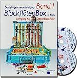 Blockflötenbox Band 1 mit 2 CDs - Sopranblockflötenlehrgang für Kinder von Daniel Hellbach - Überarbeitete und verbesserte Neuauflage -...