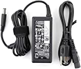 Dell 65W Laptop AC Adapter Charger Power Supply Cord for Dell-Inspiron XPS 13 Series 5559 5558 5755 5758 15-3000 15-5000 15-7000 11-3000 13-5000 13-7000 17-5000 09RN2C 6TM1C HA65NS5-00 7.4x5.0mm