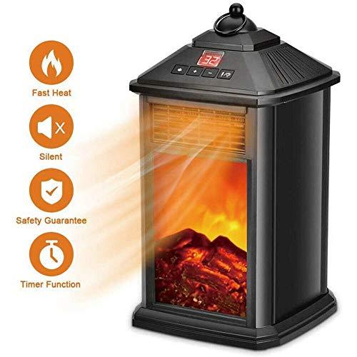 STHfficial Elektrische open haard, 800 W, elektrische kamerverwarming, elektrische verwarming, winterwarmer, decoratie, oververhittingsbeveiliging, verwarming 220 V