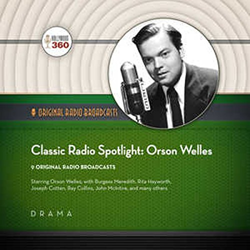 Classic Radio Spotlights: Orson Welles cover art