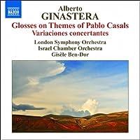 ヒナステラ:パブロ・カザルスの主題による変奏曲 Op.48 他