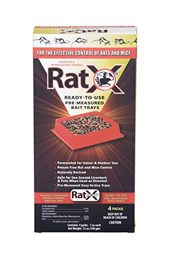 EcoClear Products 620105, RatX All-Natural Non-Toxic Humane Rat and Mouse Killer Pellets,...