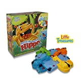 Little Treasures The Feeding Hippo Game is A Sleek Looking 3D Board Game, Fun for Kids and Adults to Play and Challenge Each Other.