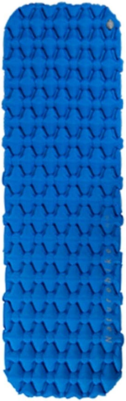 Inflatable Sleeping Mat Inflatable Sleeping Mat Air Mattress Camping Mat MoistureProof Sleeping Mat Portable Outdoor Cushion Ultralight Lightweight Compact for Camping Backpacking