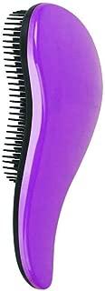 Demarkt Mejor Cepillo de Pelo Peines Tangle-Free Gran Grueso Ondulado Rizado o Cabello Fino Sobre Mujeres Niñas(Violeta)