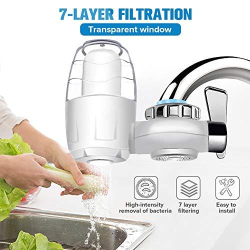 7-laags filter Keukenkraan Waterzuiveraar Waterfilterzuiveringssysteem Verwijderen van roest Sedimentfiltering Suspend