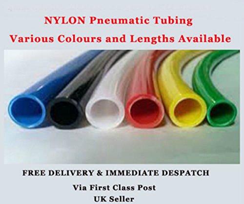 12 mm de di/ámetro x 15 mm de di/ámetro interior, 5 m, PVC sin reforzar, para agua y aire, grado alimenticio, Pentech M C LTD PMC Tubo flexible de PVC transparente sin reforzar