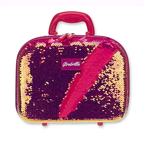 Girabrilla - Nice Group Make Up Case-Maletín Maquillaje Magenta Pearl, Color perlescente, 02522D
