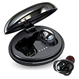 Wireless Earbuds, FKANT TWS Wireless Bluetooth Headphones Touch Control with HiFi Stereo in-Ear Gaming Headphones with Mic, 35 Hrs/Type-C Charging/IPX7 Waterproof Earbuds for Work, Home Office, Gym