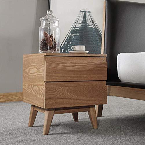 TXXM® Herstellung Nachttisch Massivholz Einfache Moderne nordische Stil Ins Schlafzimmer Kleine Couchtisch Praktische Möbel