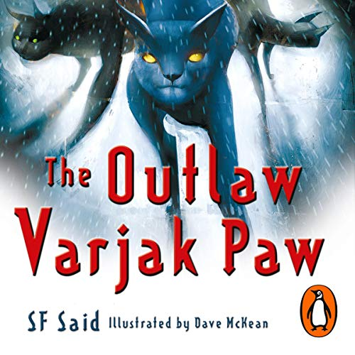 『The Outlaw Varjak Paw』のカバーアート