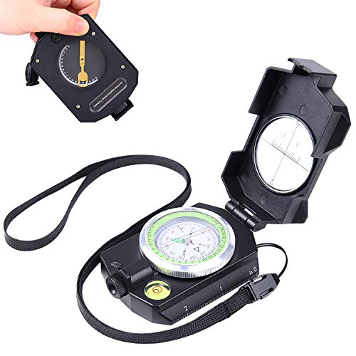 Sportneer Lensatic Military Compass with Clinometer