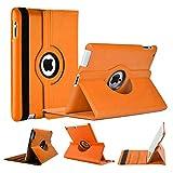 World Biz Étui portefeuille anti-chocs en cuir PU avec rabat rotatif à 360° et fonction support...