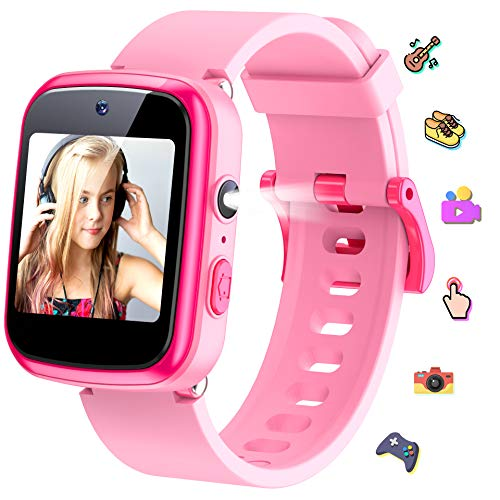 KeBuLe Kids Watch Educational Electronic Toys Touch Screen Smart Watch Toys for 5-10 Year Old Boys Girls Toddler Watch HD Dual Camera Watch Birthday for Kids USB Charging