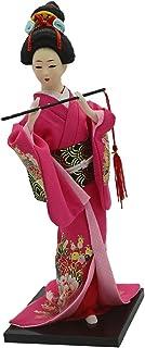 日本着物人形 芸者人形モデル オリエンタルドール 12インチアクションフィギュア用 装飾 贈り物 全5色 - #4