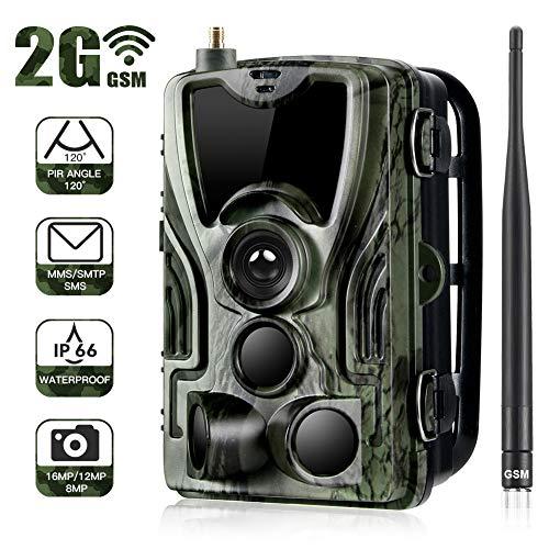 Jagdraum PNI Hunting 800S 16MP mit GSM 2G, Full HD 1080P, Nachtsicht, unsichtbare LEDs für Tiere