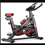 Autogeneración Entrenamiento físico Bicicleta Deportiva Bicicleta de Ciclismo para Ejercicios en Interiores Estacionaria, Profesional Ajustable para Entrenamiento en el hogar, Musle