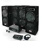 Electronic-Star Bassbrigade USB Set per Diffusione Sonora 4000 W