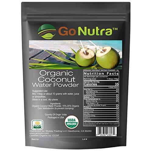 Coconut Water Powder Organic Natural Non-GMO 1 lb