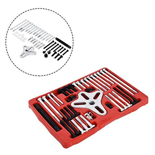 NBLYW 46-delige Harmonische Balancer Stuurwiel Puller Kit, Krukas Pulley Removal, Gebruik om versleten of beschadigde Balancers op alle soorten voertuigen te verwijderen