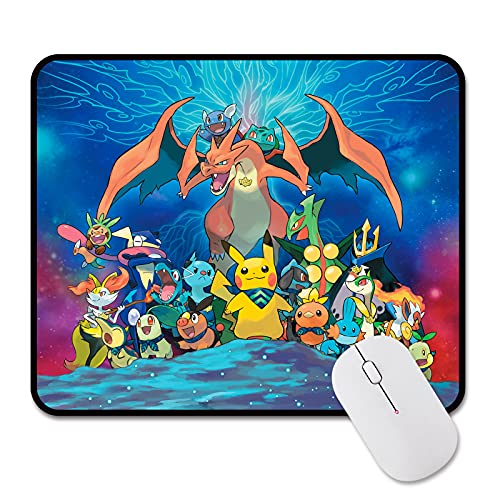 Mouse Pad Anime Gaming Mouse Pad Desk Mat for Desktop Office Gaming Boy's Gifts 9.8x11.8 Inches…