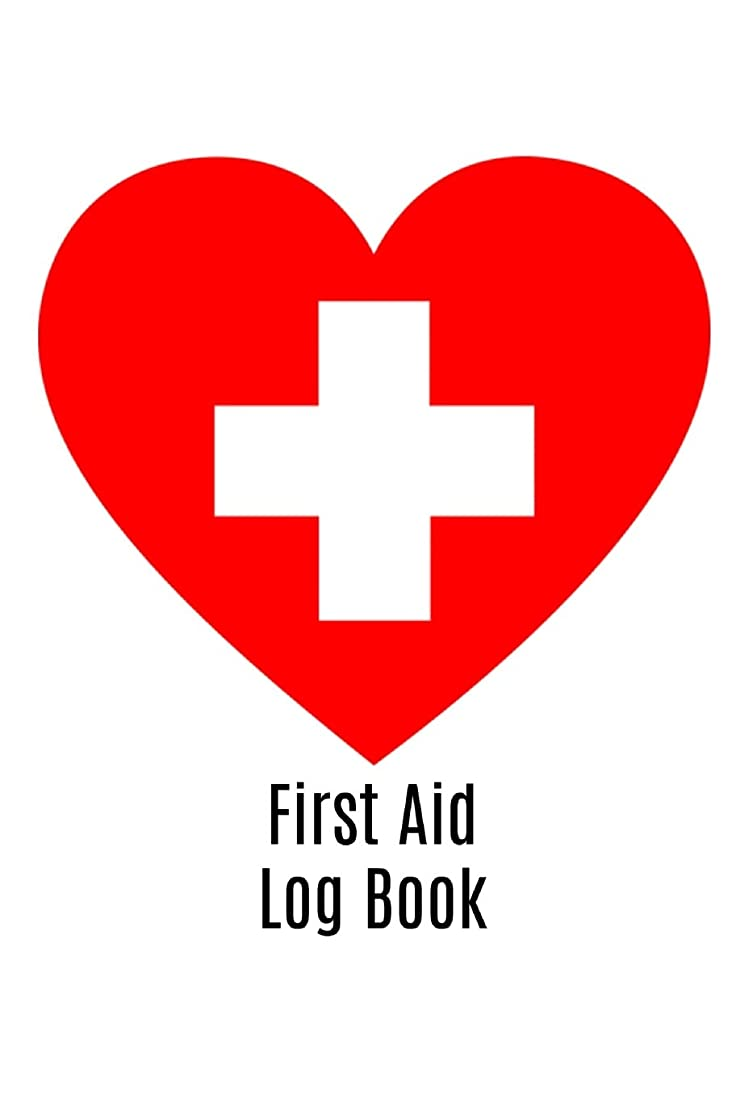 剥ぎ取る声を出して花瓶First Aid Log Book: Book Notepad Notebook Composition and Journal Gratitude Diary