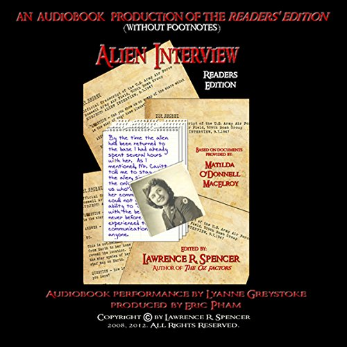 Alien Interview: Reader's Edition audiobook cover art