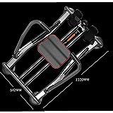 FYYDNR Rudergerät, Bewegung Rudergerät Maximallast 100kg, Gewicht Detaillierte LCD Display schlankes Profil for einfache Lagerung -110 Cmx57cmx17cm - 2