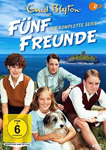 Enid Blyton: Fünf Freunde - Die komplette Serie (4 DVDs)