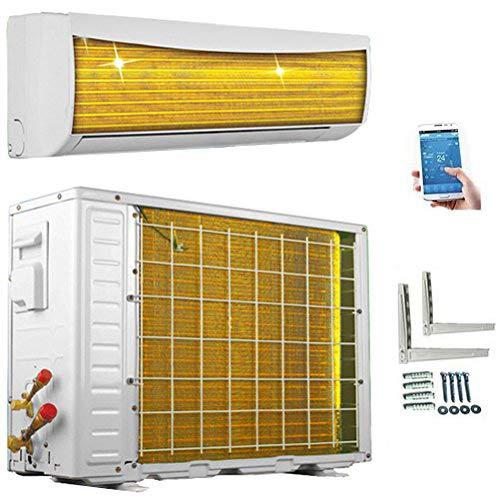 A++/A+++ ECO Smart INVERTER WiFi/WLAN 18000 BTU Split Klimaanlage mit Wärmepumpe Klimagerät mit Heizfunktion SmartHome (5,2 kW)