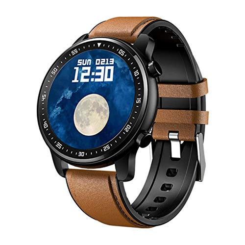 ZRY MT1 Smart Watch 2020 IP67 IP67 Pantalla Táctil Completa Impermeable Doble Bluetooth Macho TWS Música Mujer Smartwatch para iOS Android,A