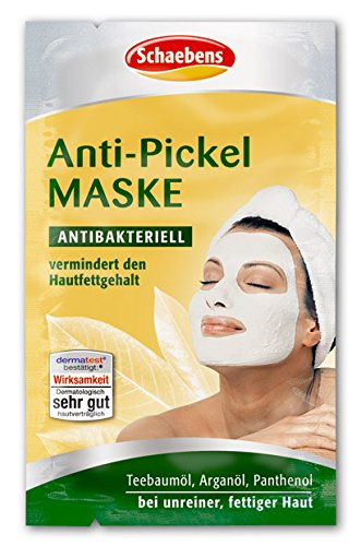 Schaebens Anti-Pickel Maske, 10er Pack (10 x 10 ml)