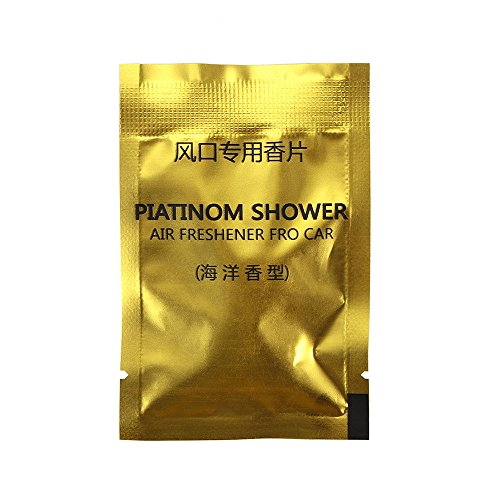 ONEVER Pills Frais Parfums Voiture Cologne Parfum Pur suppl¨¦Ment Solide Parfum de l'air Outlet 2Pcs / Sac