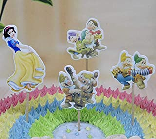 Best snow white cupcake toppers Reviews