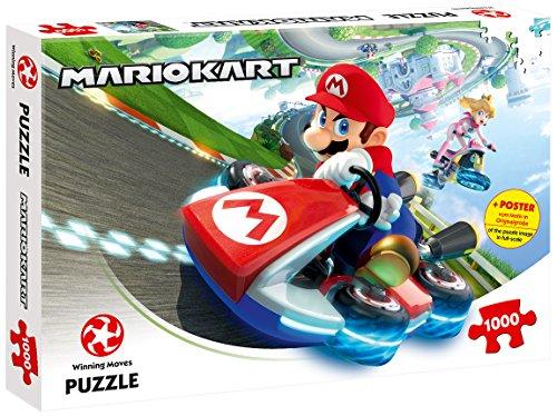 Puzzle Mario Kart - Funracer (1000 Teile) – ein absolutes Highlight für alle Mario Kart-Fans