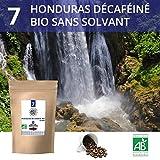 Café en grains Bio - Honduras décaféiné sans solvant - Paquet de 1Kg - 100% arabica - Torréfié...