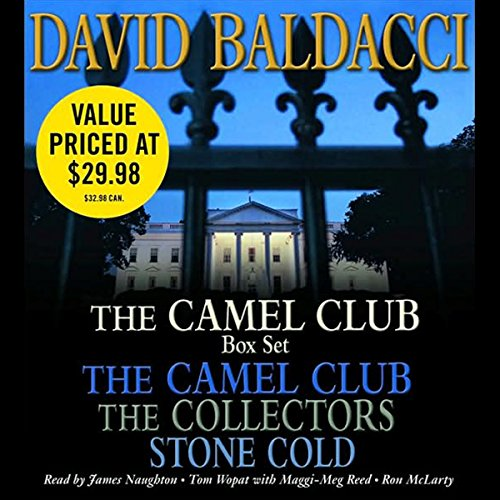 The Camel Club Audio Box Set audiobook cover art