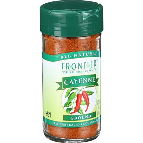 Frontier Red Pepper Cayenne Ground -- 90000 HU - 1.6 oz ( Multi-Pack)