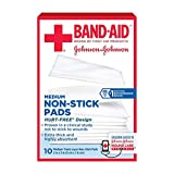 BAND-AID First Aid Non-Stick Pads, Medium, 2 in x 3 in, 10 ea (Pack of 3)