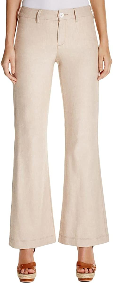 NYDJ Women's Claire Trousers in Textured Linen