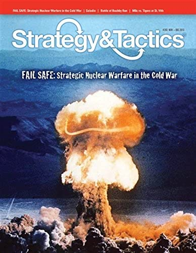 DG  Strategy & Tactics Zeitschrift, Ergebnis   283, with Fail Safe, Strategic Nuclear Warfare in the Cold War, Board Game