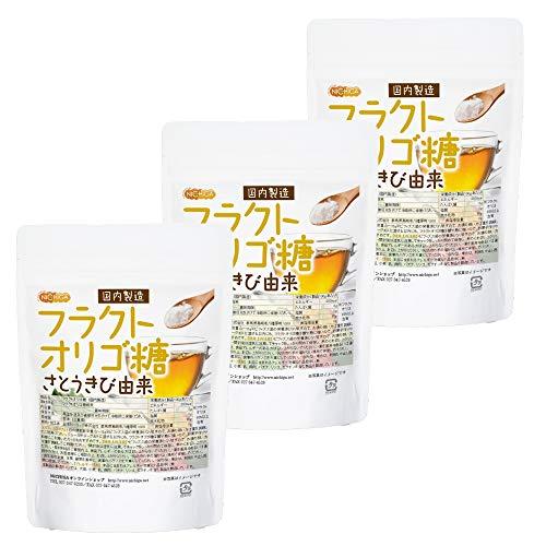フラクトオリゴ糖 200g×3袋 国内製造 [06] NICHIGA(ニチガ)