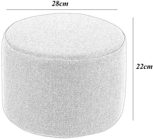 Léger étui souple Repose-pieds, sécurité portable Repose-pieds Chambre Salon multi-usage durable anti-dérapant Pouffe Tabouret for port de chaussures 1112 (Color : Green) Green